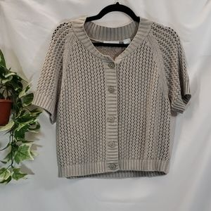JH Collectibles Sweaters - EUC Glittery Crochet Top